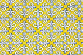 Multicolored spanish tiles decoration — Stock Photo
