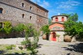 Monastery of Limonos in Lesbos Greece — 图库照片
