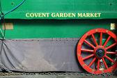Stall of Covent Garden market, London — Stock Photo