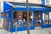 Authentic bar in Paris — Stock Photo