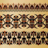 Ancient Greece ornament — Stock Vector