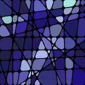 Mozaik vitray arka plan — Stok Vektör