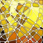抽象的彩绘玻璃马赛克背景 — 图库矢量图片