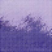 Abstrakten quadratischen pixel-mosaik-hintergrund — Stockvektor