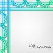 縞模様と抽象的な背景 — ストックベクタ