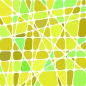 Abstract stained-glass mosaic background — Stock Vector