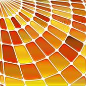 抽象的なステンド グラス モザイクの背景 — ストックベクタ