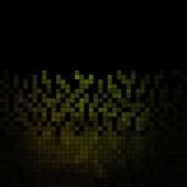 抽象矢量正方形像素马赛克背景 — 图库矢量图片