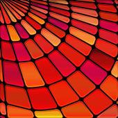 Soyut vektör mozaik vitray arka plan — Stok Vektör