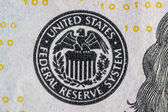 Detail of US Money — Stock Photo