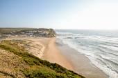 Algarve: Sunset at Surfer beach Praia Monte Clerigo near Aljezur, Portugal — 图库照片