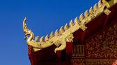 Naga on blue sky. — Stock Photo