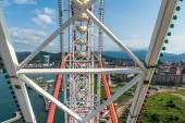 Ferris wheel at summer in Batumi — Stock Photo