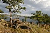 Orilla del lago baikal — Foto de Stock