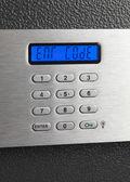 Safe electronic home keypad — Stock Photo