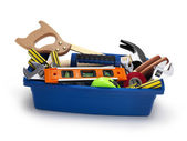 Tool Box filled — Stock Photo