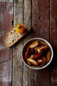 Pieczone ziemniaki — Zdjęcie stockowe