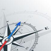 Compass northeast — Stock Vector