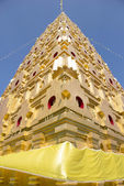 Bodhgaya-style stupa at Wangvivagegaram Temple, Sangkhla Buri, Thailand — Stock Photo