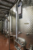 Modern vinery in Italy — Stock Photo
