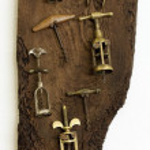 Old corkscrews — Stock Photo #72169375