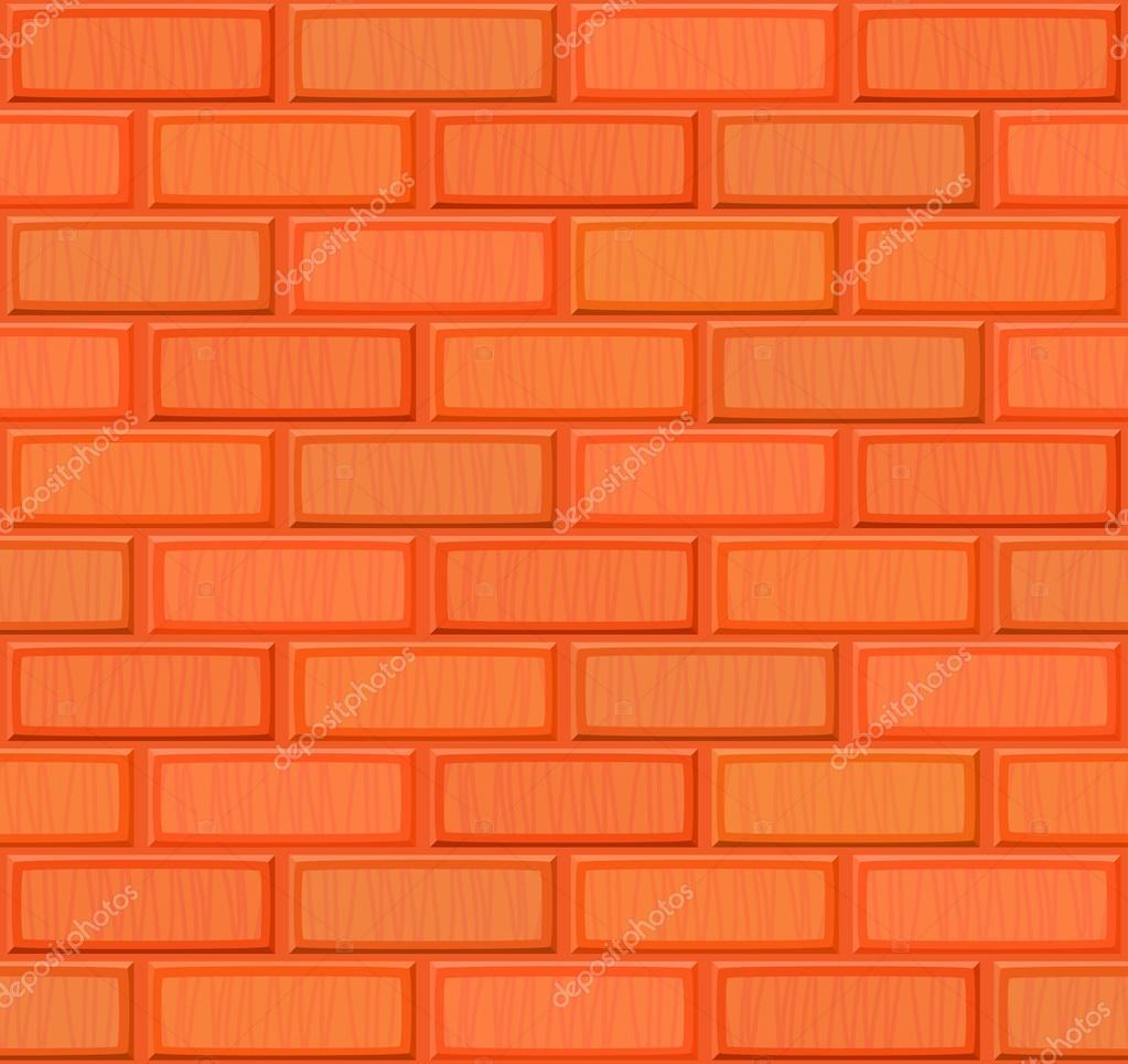 dessin anim main noyer texture de mur de brique sans soudure r aliste multicolore illustration. Black Bedroom Furniture Sets. Home Design Ideas