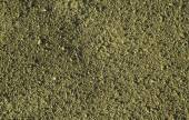 Yellow earth and gravel macro texture background — Stock Photo