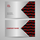 Vector illustration of business card — Stock Vector