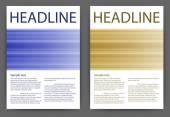 Abstraktní design vektor šablony rozložení pro časopis brožura leták brožura a4 — Stock vektor