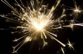 Electric sparklers. — Stockfoto
