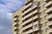 Facade of a new apartment building — Stock Photo
