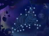 Kids book illustration. Rabbit constellation. — Stock Photo