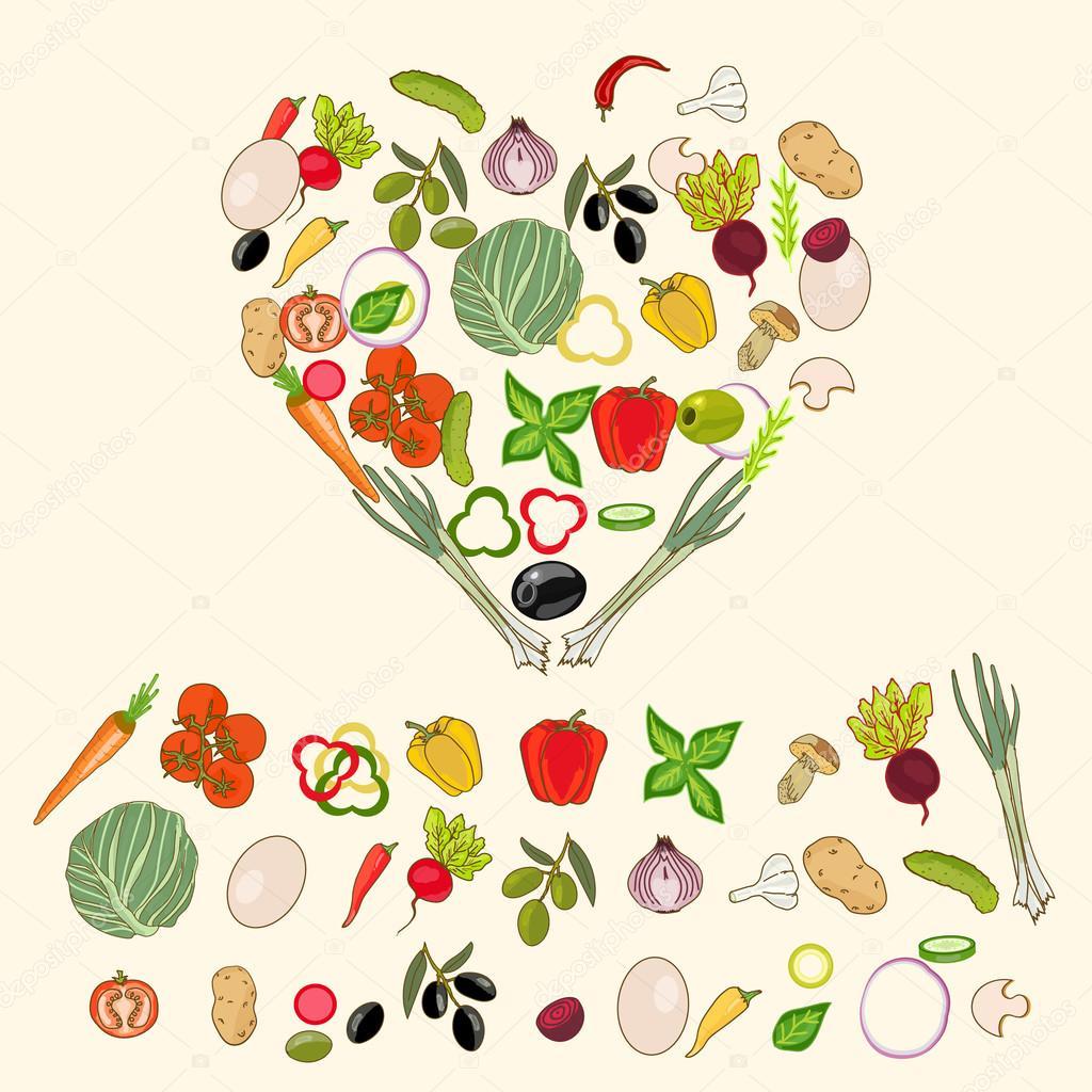 форма здорового питания