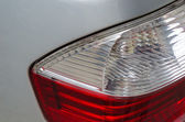 Detail car tail light — Stock Photo