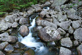 Water Stream in Mountains — Stock Photo