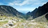 Panoramic VIew of High Tatras Hills — Stock Photo
