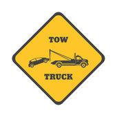 Tow truck icon — Stock Vector