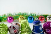 Kerstmis speelgoed — Stockfoto