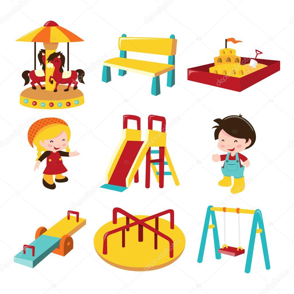 Patio Swing Outdoor Playground Fun Stock Vector 169 Totallyjamie 71198773