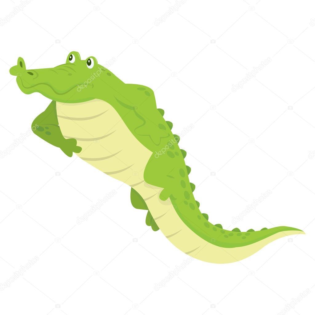 卡通鳄鱼放松 — 图库矢量图像08