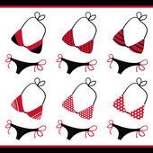 Bikini Collection — Stock Vector