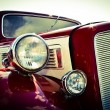 Old car front view — Stock Photo #71769117