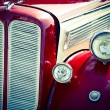 Old car front view — Stock Photo #71769141