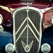 Old car front view — Stock Photo #71769501