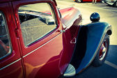 Citroen old car view on the left front side — Foto de Stock