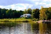 Vyborg. Park Monrepo — Stock Photo