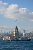 Maiden's Tower, Istanbul, Turkey. — Stock Photo