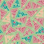 Pattern in triangles — Stockvektor
