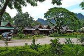 Resort Vang Vieng, Laos — Stock Photo