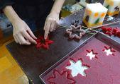Sofia, ブルガリアのクリスマスキャンドルを作り 2014 年 11 月 15 日 — ストック写真